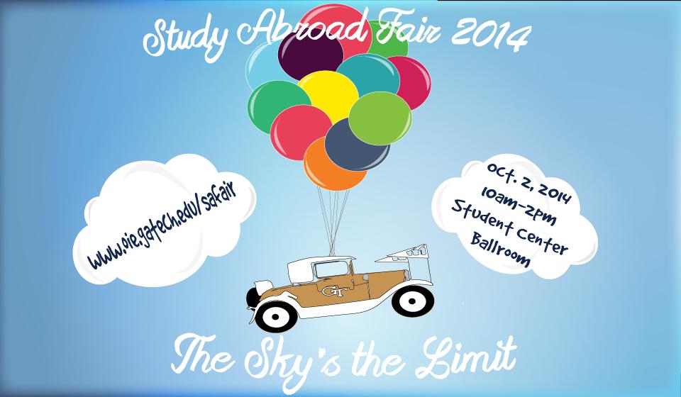 Study abroad fair october 2nd inta undergraduate - Office of international education gatech ...
