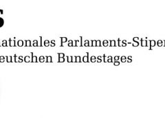Berlin – International Parliamentary Scholarship – 2022
