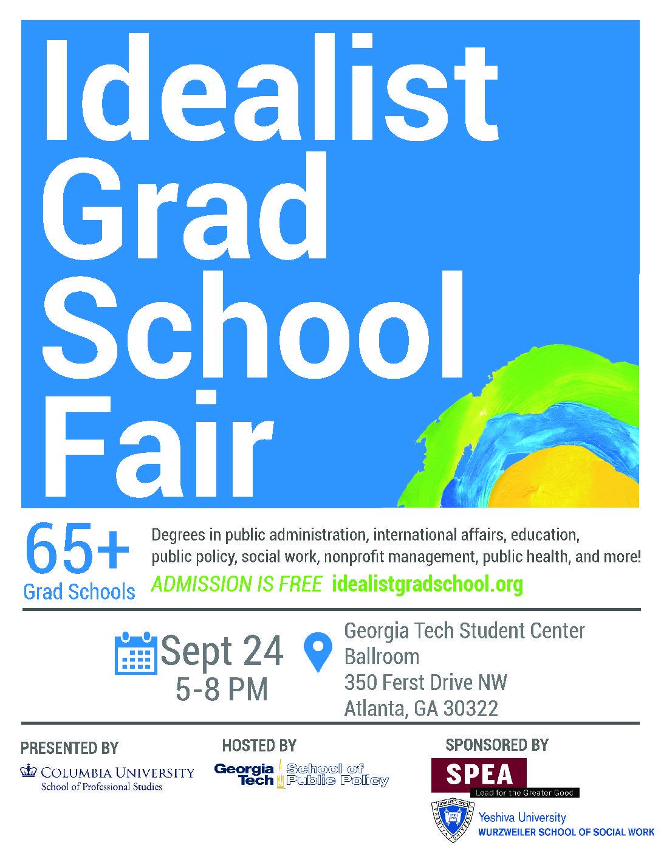 The Atlanta Idealist Grad Fair – September 24 – INTA