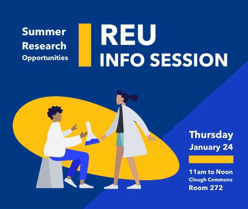 Summer Research Opportunities Workshop (REU Information Workshop