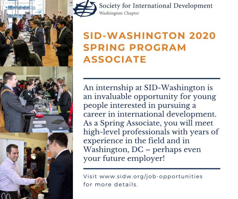 Spring 2020 Internships Washington Dc.November 5 2019 Inta Advising Blog